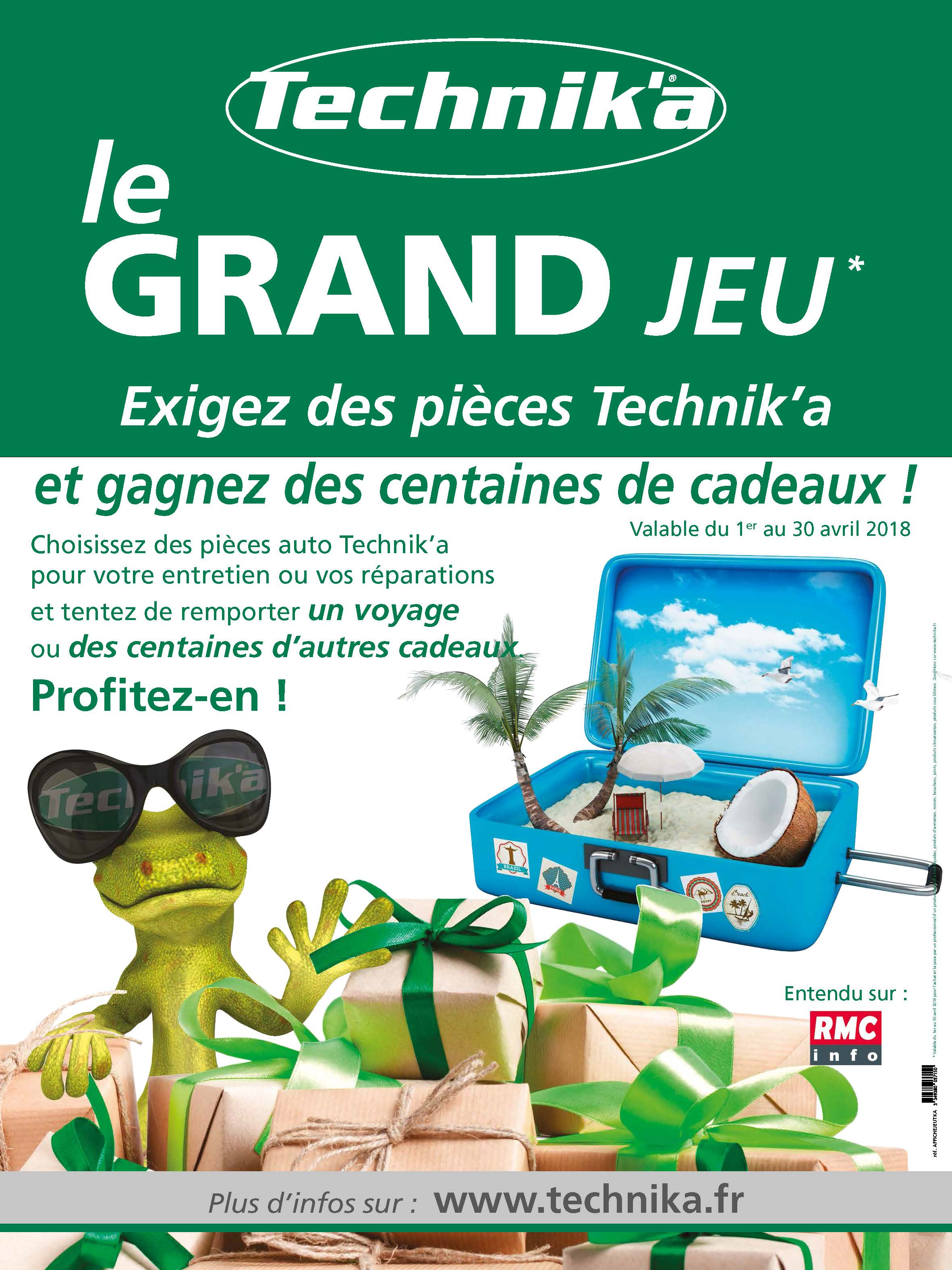 AFFICHEJEUTKA Grand Jeu Technik'a